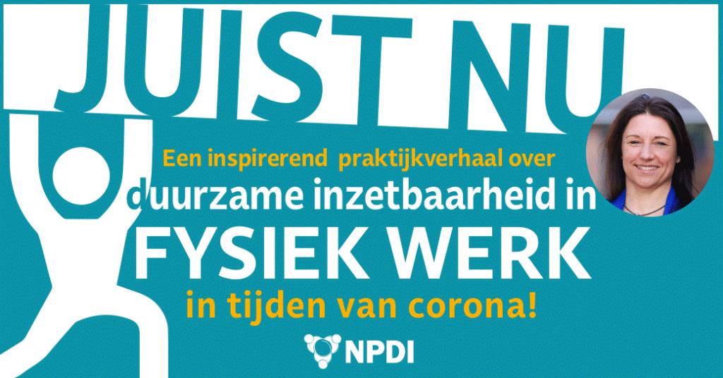 Banner JUIST NU van Brouwers Groenaannemers