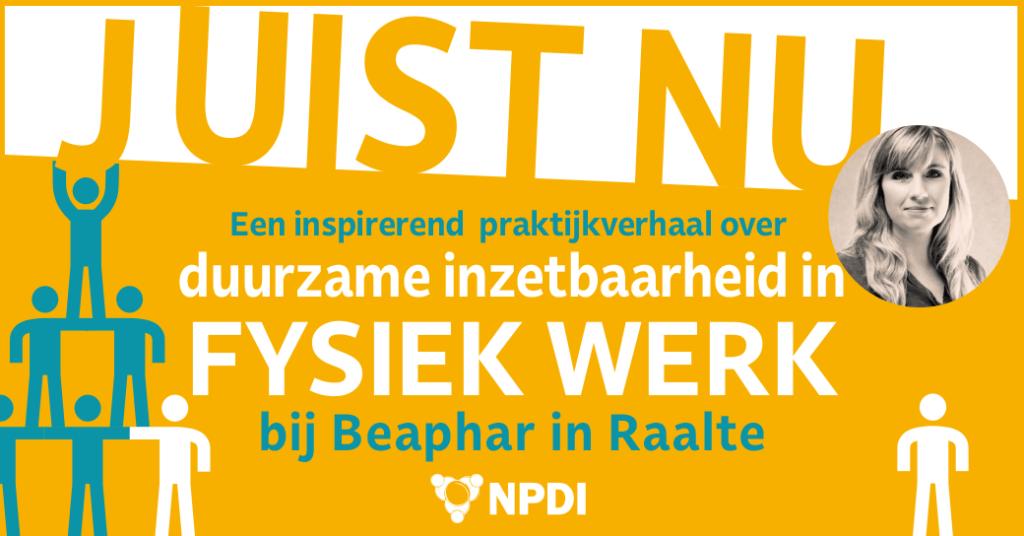 Banner JUIST NU van Beaphar